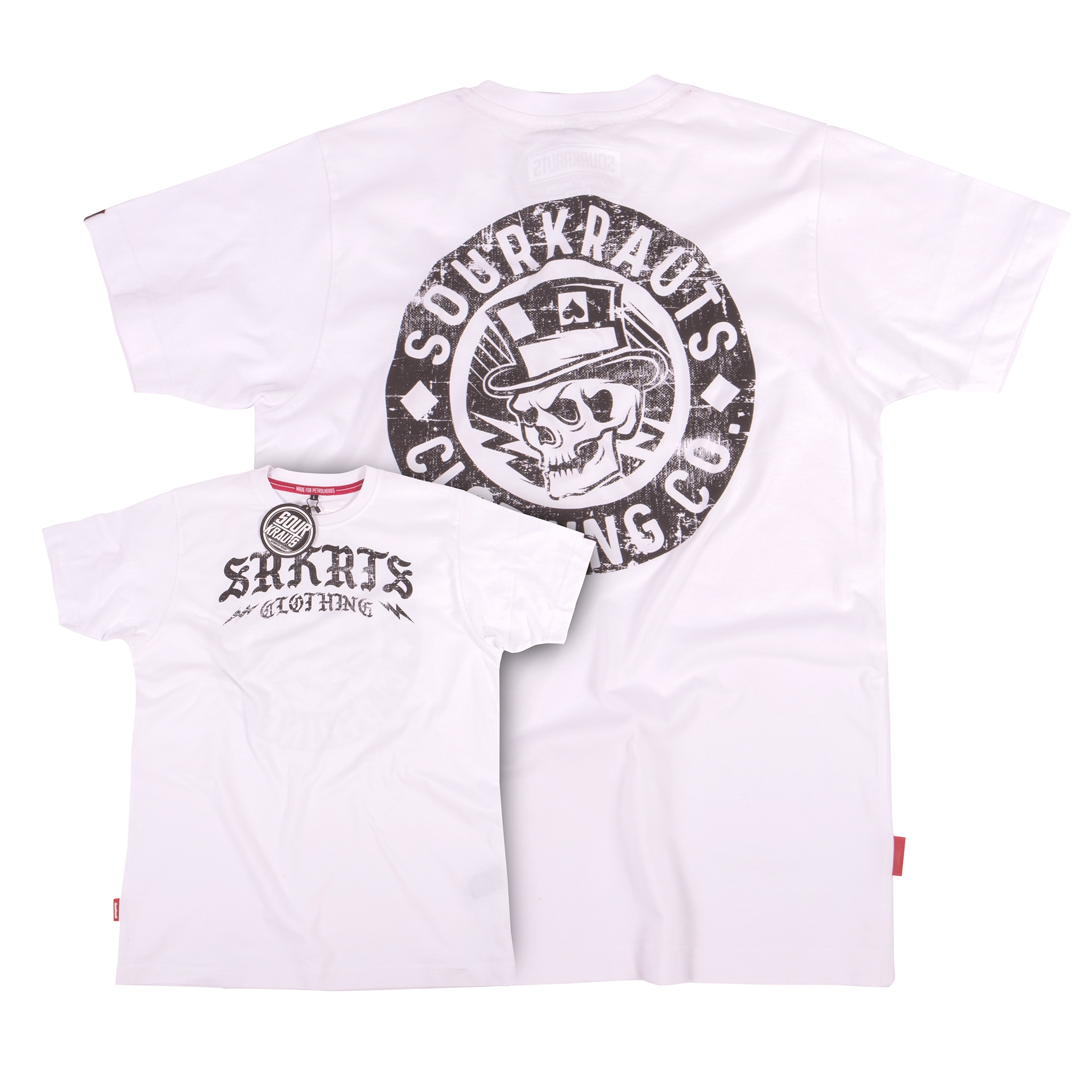 T-Shirt Frank | Weiss
